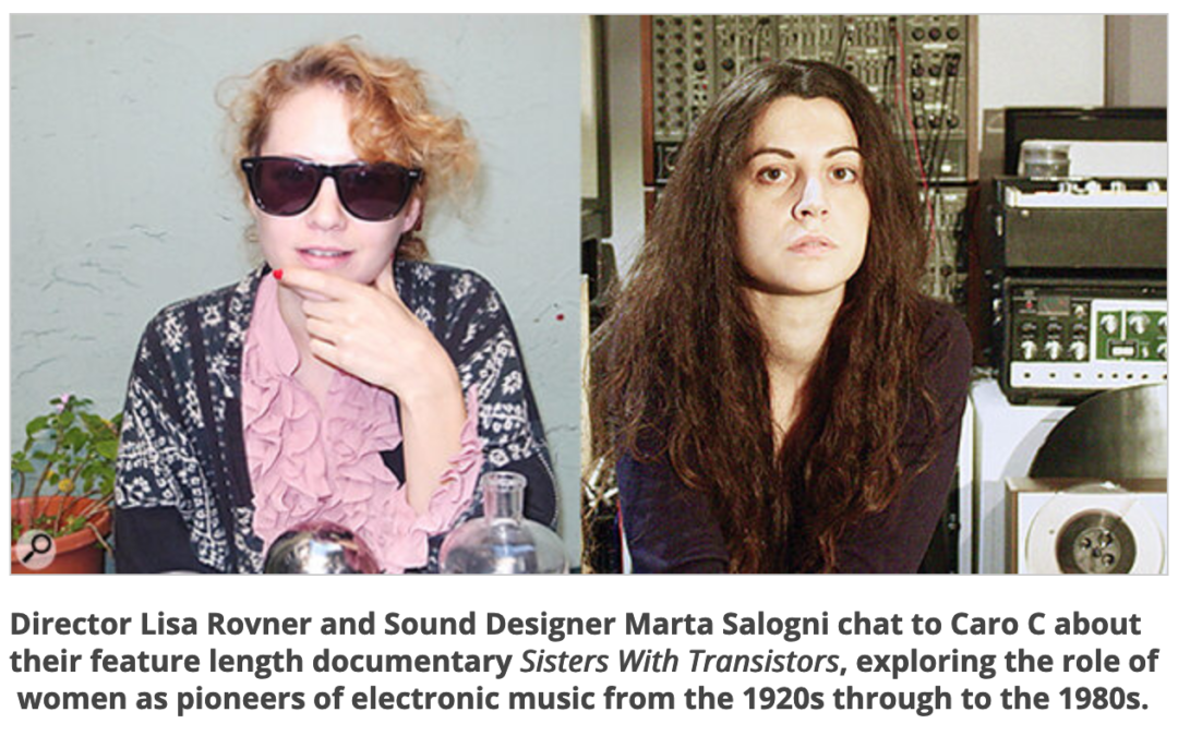 Sound On Sound podcast: Sisters With Transistors