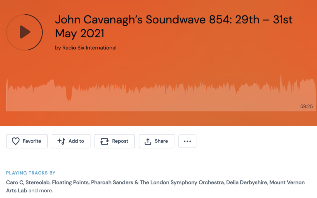 Electric Mountain featured on John Cavanagh's Soundwaves show
