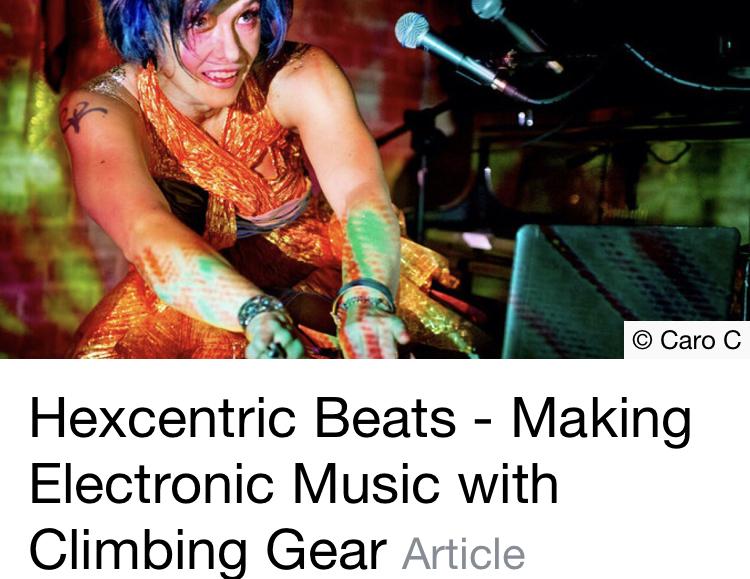 Making music with climbing gear – UK Climbing feature