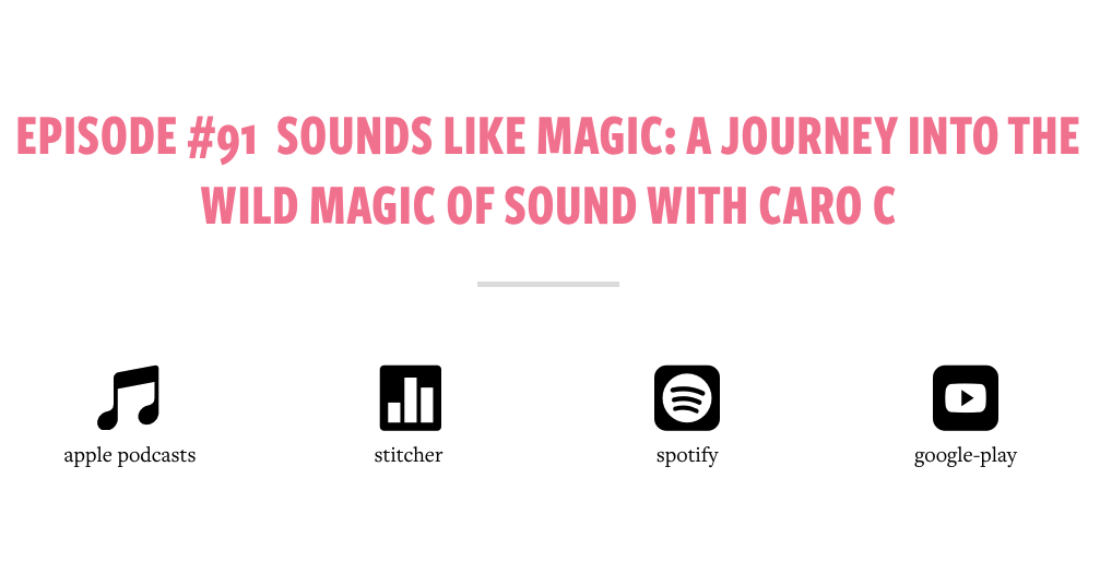 Podcast interview about the magic of sound and music